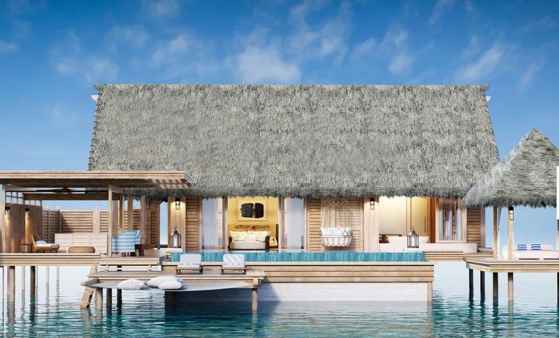 Waldorf Astoria Maldives Ithaafushi One Bedroom Overwater Villa