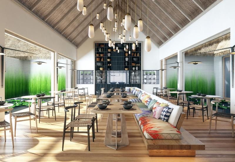 Waldorf Astoria Maldives Ithaafushi Restaurant NoDu