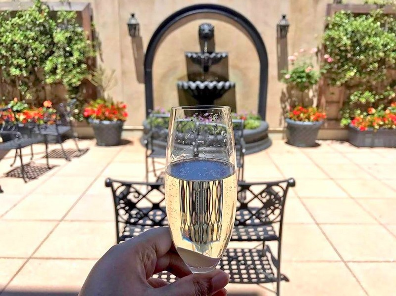 Warm, summer afternoons are meant to be treasured, like a glass of champagne