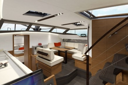World Premiere: Wauqiez Pilot Saloon 42 lets you enjoy greater views of the ocean from inside the boat