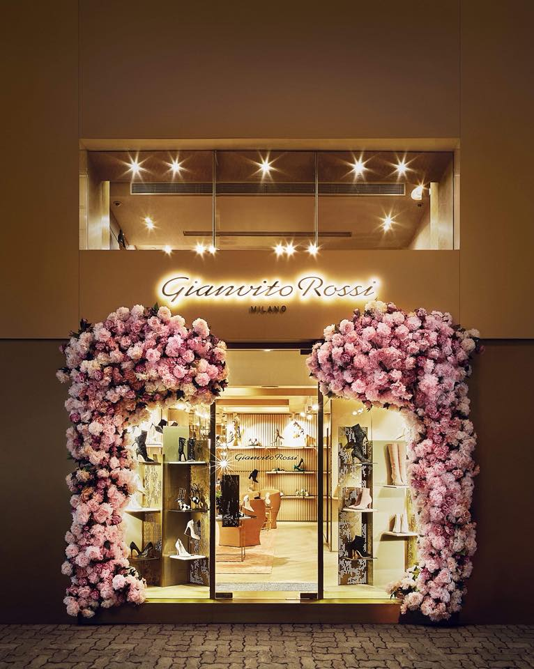 Welcome to Gianvito Rossi On Lan Street Boutique in Hong Kong