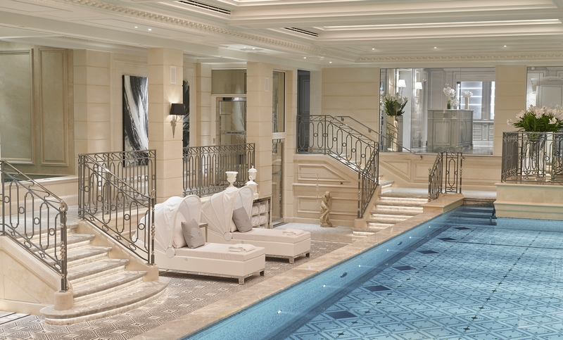 Welcome to the brand new spa at Four Seasons Hotel George V Paris