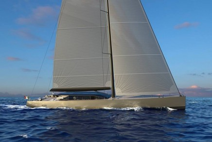 Zero emission mode: Welcome to the new era of Perini Navi, the 42m E-volution and the 25m Eco Tender
