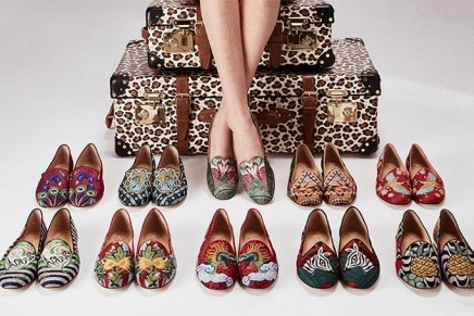 Charlotte Olympia puts the glamour back into travel