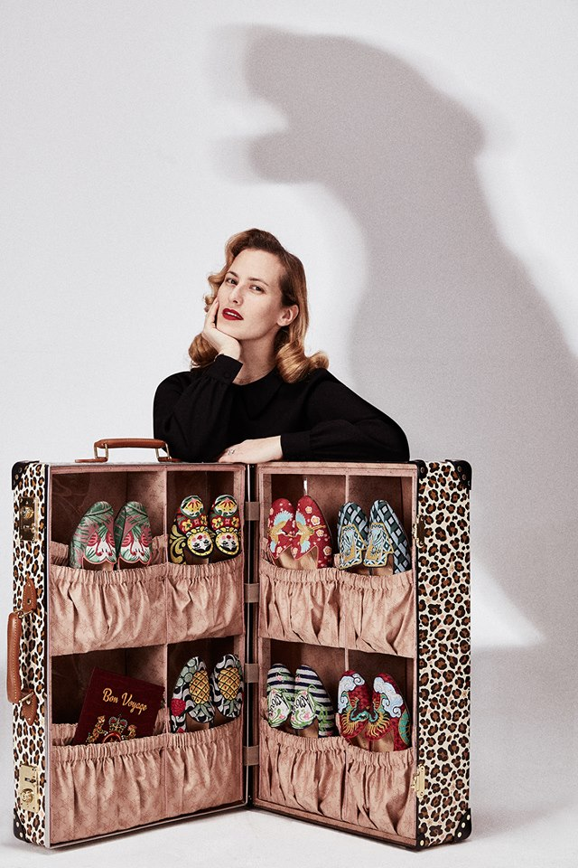 Wish you were here - Charlotte Olympia x Globe-Trotter capsule collection 2017