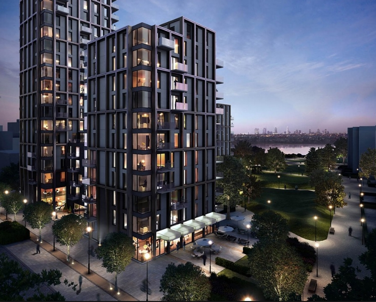 Woodberry Down is a new luxury development in North London