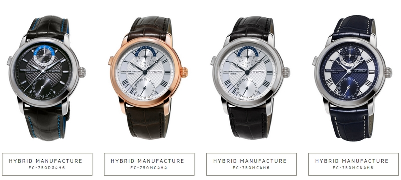 World's first 3.0 Watch is a Frederique Constant Hybrid Manufacture - featured timepieces
