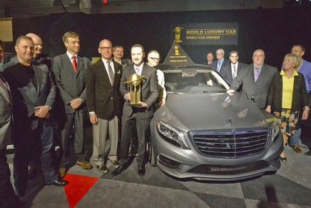 2014 World Luxury Car. The winners of the World Car of the Year.