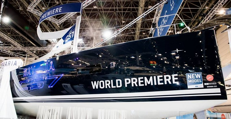 World Premiere - BAVARIA C57 by Bavaria Yachts-2017 boot dusseldorf