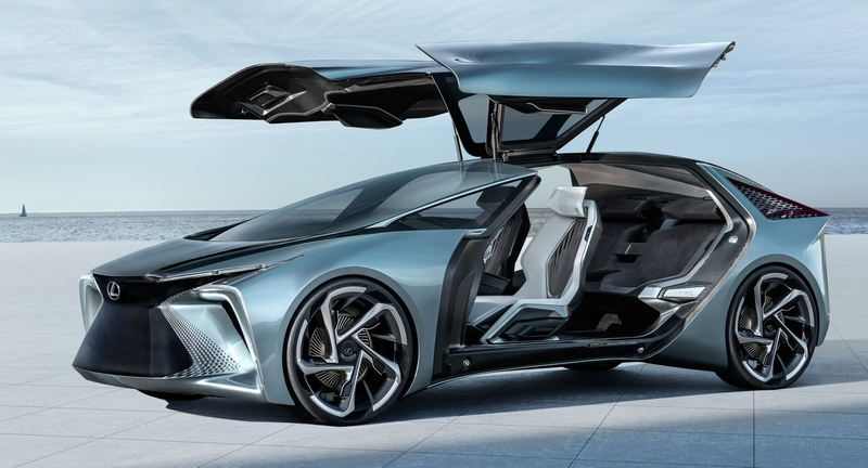 World Premiere of the LF-30 Electrified Concept