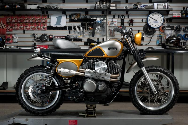 Yamaha SCR950 By Jeff Palhegyi Designs-