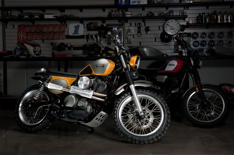 Yamaha SCR950 By Jeff Palhegyi Designs--