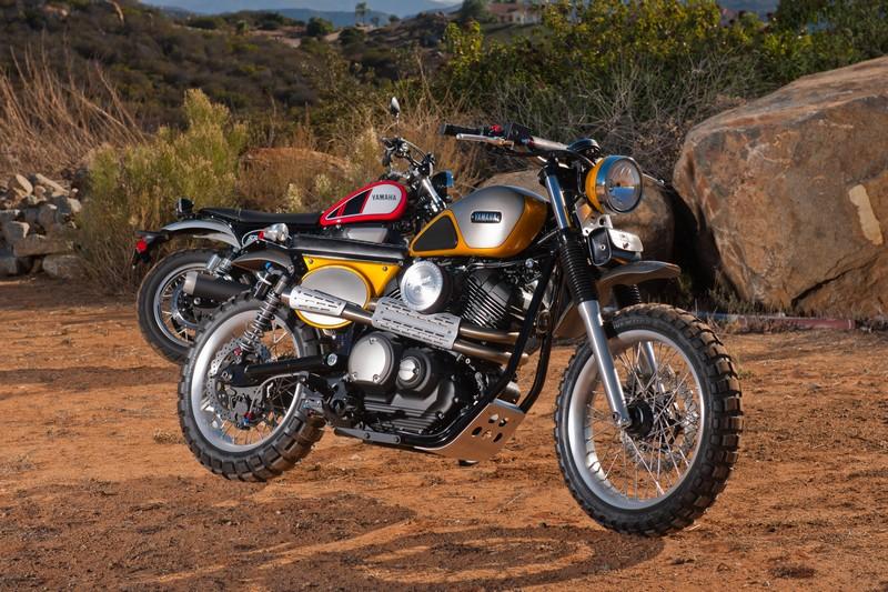 Yamaha SCR950 By Jeff Palhegyi Designs