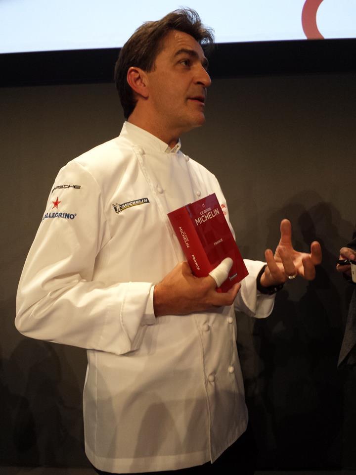 Yannick Alleno's 1947 restaurant in Courchevel awarded three stars in 2017 MICHELIN guide France--