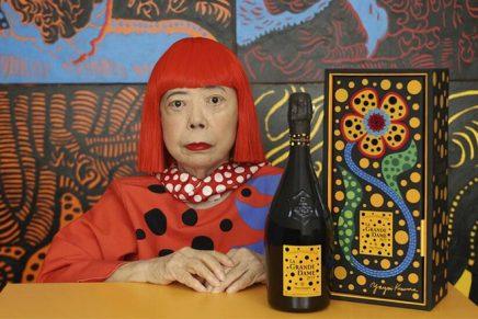 Yayoi Kusama breathed new life into Veuve Clicquot La Grande Dame 2012
