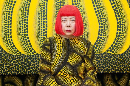Yayoi Kusama named world's most popular artist in 2014