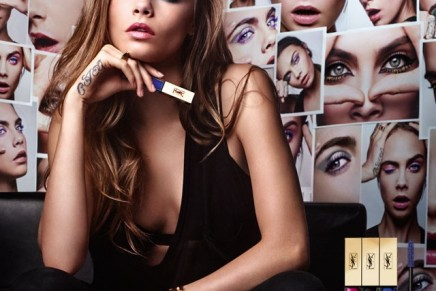 Yves Saint Laurent Vinyl Mascara Couture. The ultimate co-conspirator in the game of reinvention
