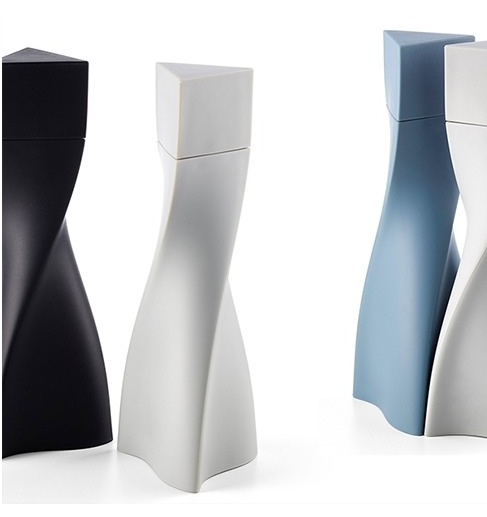 Zaha Hadid Design at maison & objet 2018 - Duo - Salt and Pepper Grinder