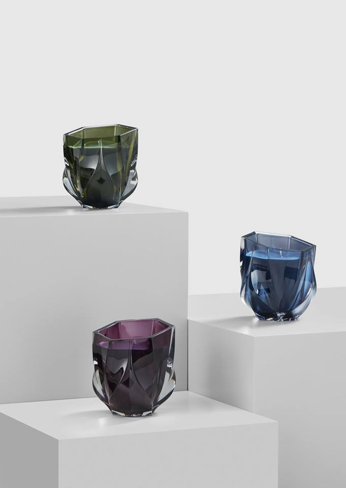 Zaha Hadid Design at maison & objet 2018 - Shimmer Collection - Scented Candles