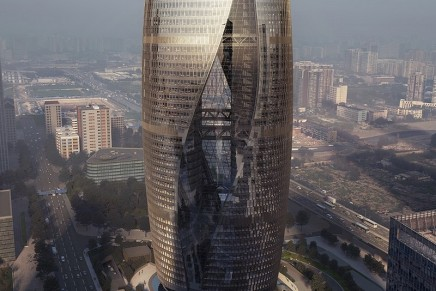 Zaha Hadid's Leeza Soho tower includes the world's tallest atrium