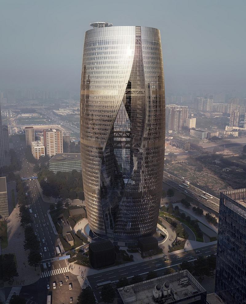 Zaha Hadid's Leeza Soho tower will include the world's tallest atrium