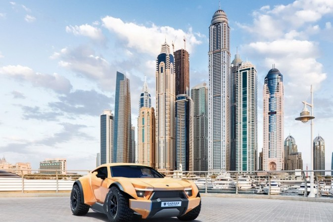 The first batch of the Zarooq Motors' luxury off-road supercar is ready for production