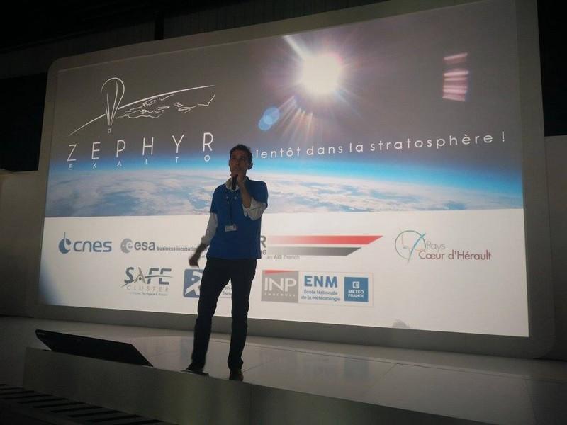Zephyr Endless Flight at CNES