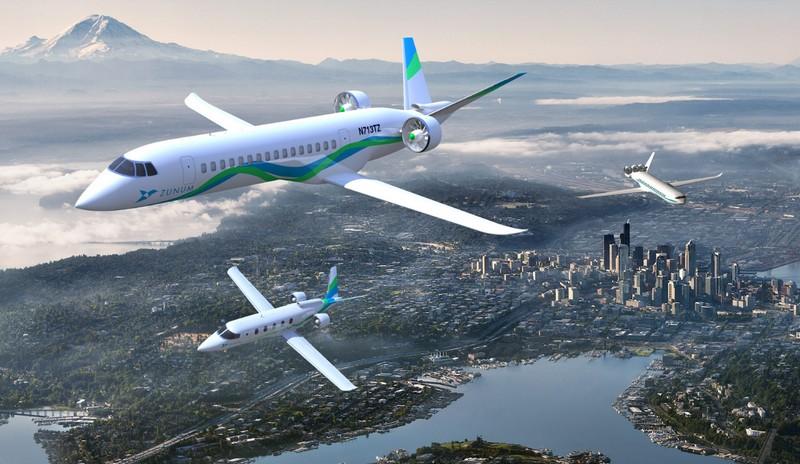 Zunum Aero aircrafts