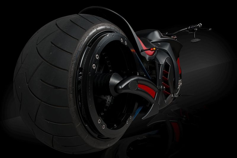 Zvexx - 2017 ZVEXX Outrageous electric motorbike-