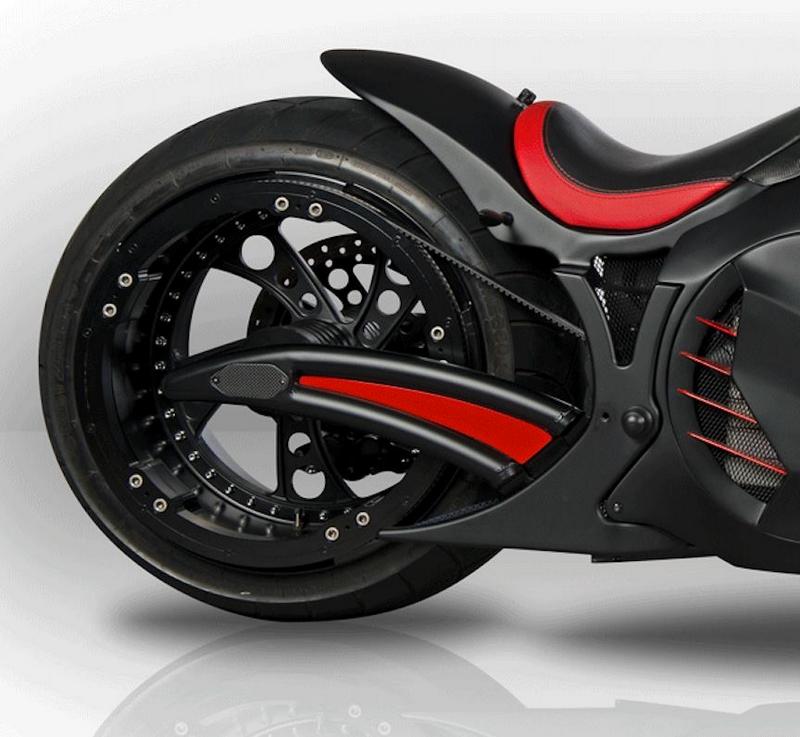 Zvexx - 2017 ZVEXX Outrageous electric motorbike-0