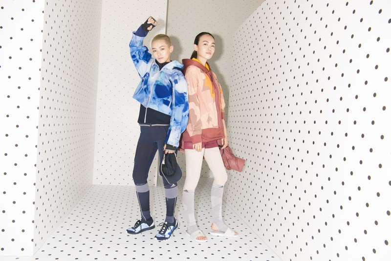 adidas by Stella McCartney presented the FallWinter 2017 collection-models