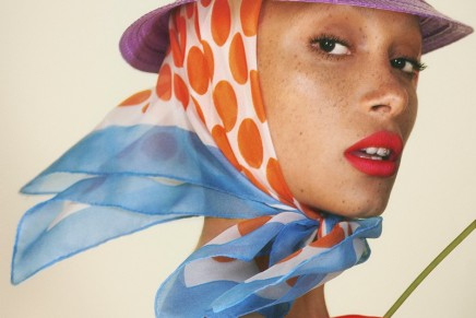 Adwoa Aboah and Le Marc Liquid Lip Crayon