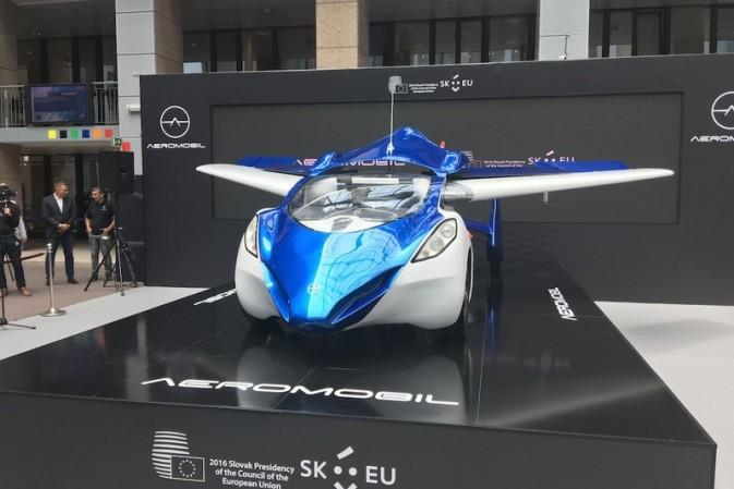 Transport of tomorrow: Aeromobil 3.0 Next Generation.
