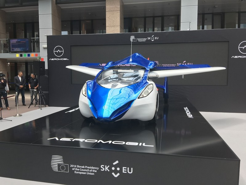 aeromobil 3dot0 in Brussels