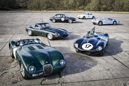 Jaguar Land Rover Classic – double victory at the 2017 Octane Awards