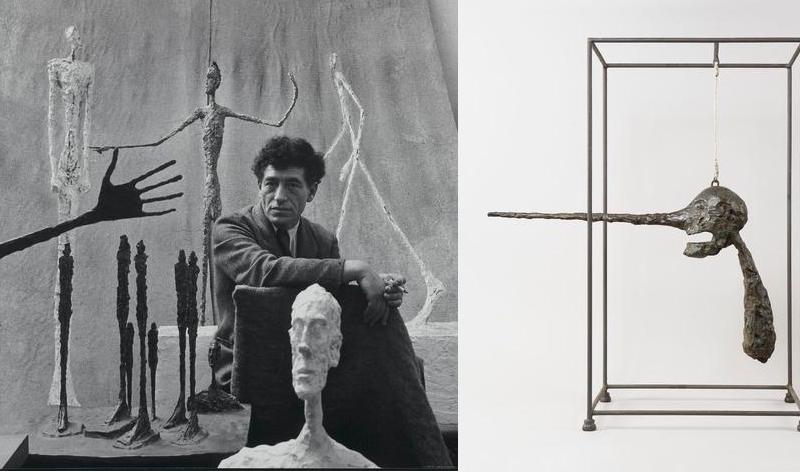 alberto giacometti exhibition-retrospective-2018-atelier