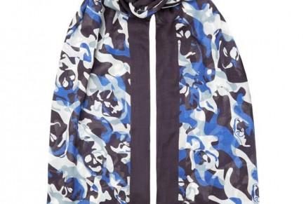 Wrap it up, guys: scarf semantics for men