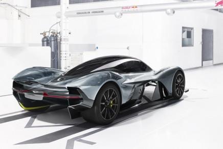 Aston Martin concept hypercar debuts at the Canadian International Auto Show