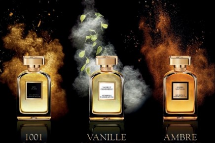 The pleasure to offer unique olfactory creations: Annick Goutal Les Absolus trilogy