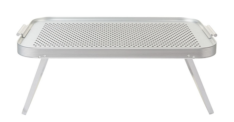 anodised aluminium Kaymet Rubber Grip Tray