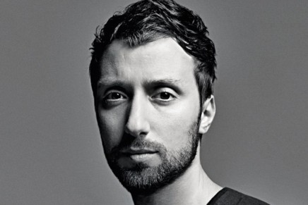 Anthony Vaccarello at the helm of Saint Laurent