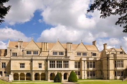 Red Baron's Jacobean Apethorpe Palace marks its rebirth with party