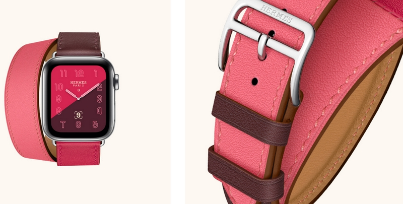 applewatchhermes-double wrap-colorful