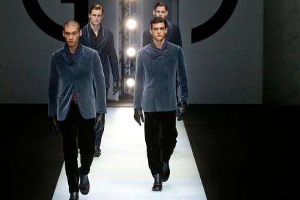 Armani and Fendi stay classy for Milan menswear shows