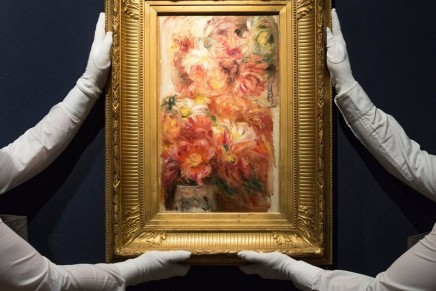 Christie's reports soaring sales of £10m-plus art