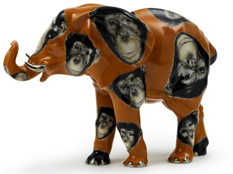 asprey elephant figurine