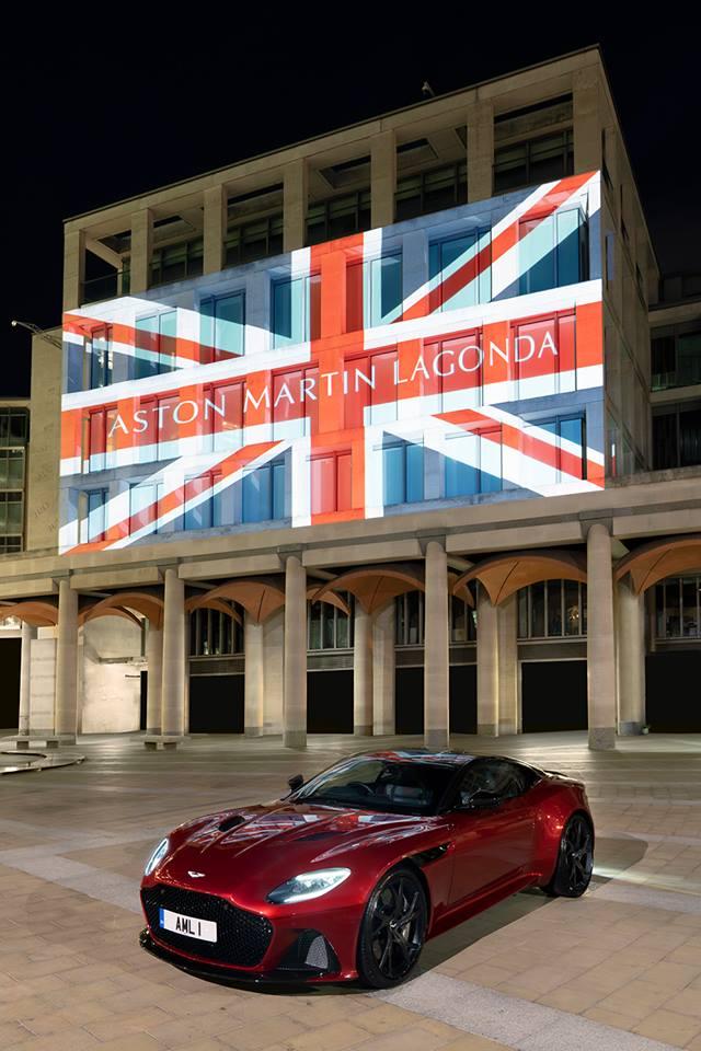 aston martin lagonda facade
