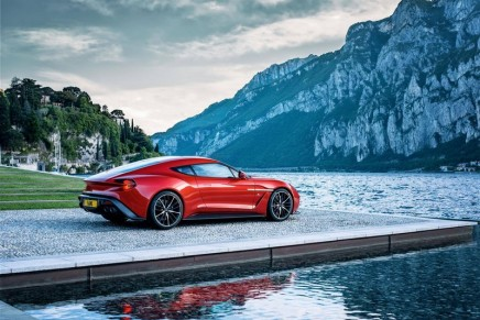 The limited edition Vanquish Zagato Coupe