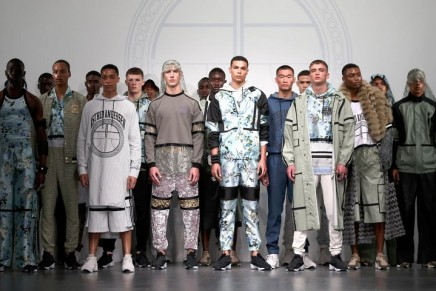 It's all silk and florals as gender-fluid themes dominate men's catwalks