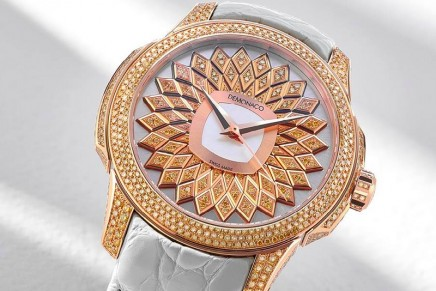 La Sirène Champagne will bring charm and elegance to any feminine wrist